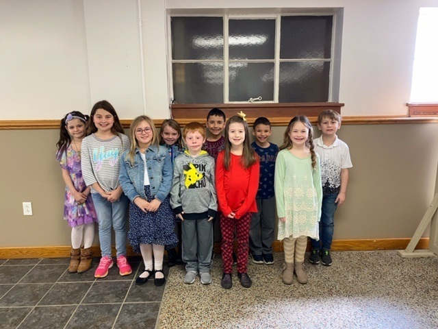 We are proud of our  2nd and 3rd grade MVBs from the 2nd Quarter!